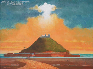 'St. Michael's Mount' - Canvas Painting