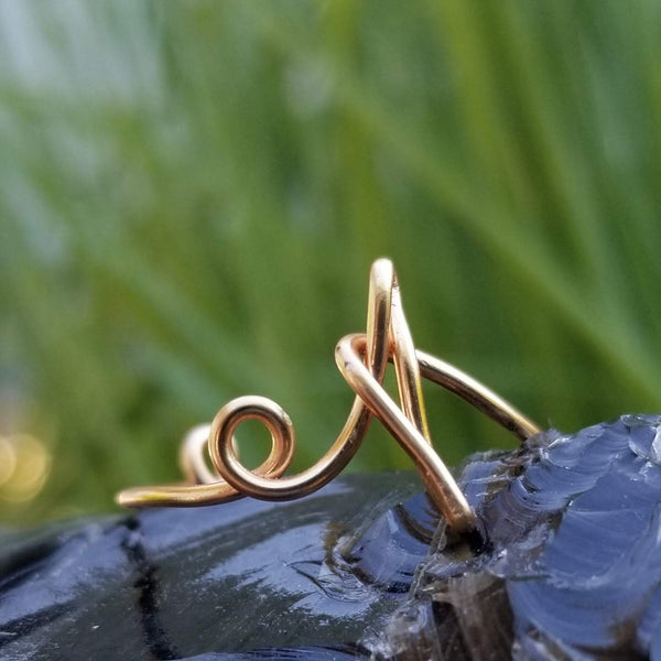A Initial Ring, Adjustable<br>FREE SHIPPING IN US