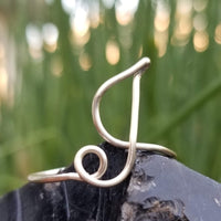 I Initial Ring, Adjustable<br>FREE SHIPPING IN US