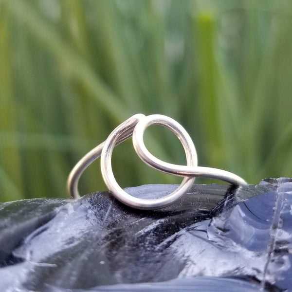O Initial Ring, Adjustable<br>FREE SHIPPING IN US