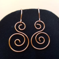 Spiral Earrings<br>FREE SHIPPING IN US