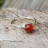 Twisted Cyclops with Carnelian Stone