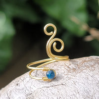 Whale Spout with Apatite Stone