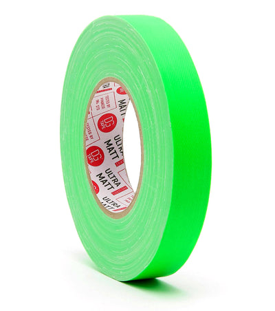 @ULTRAMATT 76MESH - 1in & 2in | FLUORESCENT GAFFER TAPE
