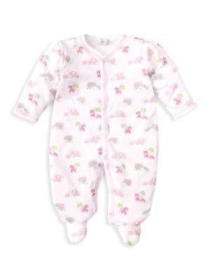 Kissy Kissy Safari Sibling Pink Footie