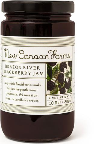 New Canaan Farms Brazos River Blackberry Jam
