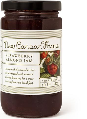 New Canaan Farms Strawberry Almond Jam