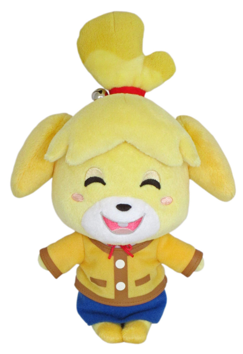 "81999601309Little Buddy Animal Crossing Smiling Isabelle Plush, 8""9"