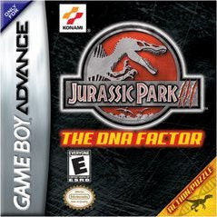Jurassic Park III DNA Factor - GameBoy Advance