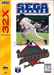 World Series Baseball - Sega 32X