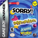 Aggravation / Sorry / Scrabble Jr - GameBoy Advance
