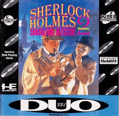 Sherlock Holmes: Consulting Detective Volume II [Super CD] - TurboGrafx-16