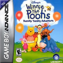 Winnie the Pooh Rumbly Tumbly Adventure - GameBoy Advance