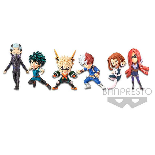 My Hero Academia The Movie Heroes: Rising WCF World Collectible Assorted Figure 16009