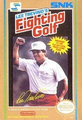 Lee Trevino's Fighting Golf - NES