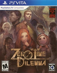Zero Time Dilemma - Playstation Vita