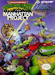 Teenage Mutant Ninja Turtles III The Manhattan Project - NES