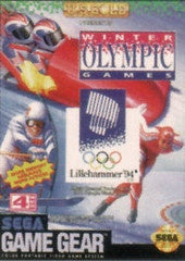 Winter Olympics - Sega Game Gear