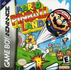 Mario Pinball Land - GameBoy Advance