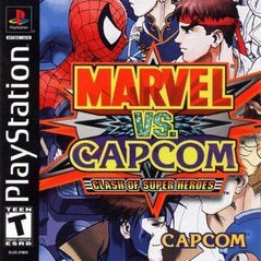 Marvel vs. Capcom Clash of Super Heroes - Playstation