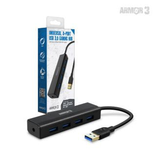 Universal 4-Port USB 3.0 Gaming Hub - Armor3