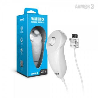 """WaveChuck"" Nunchuck Controller For Wii U®/ Wii® (White) - Armor3"