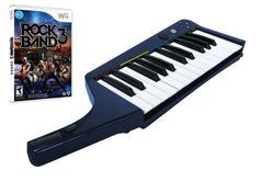 Rock Band 3 Keyboard Bundle - Wii