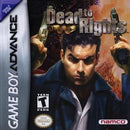 Dead to Rights - GameBoy Advance