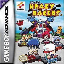 Krazy Racers - GameBoy Advance