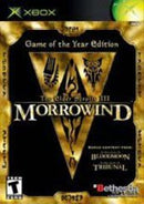 Elder Scrolls III Morrowind [Game of the Year] - Xbox