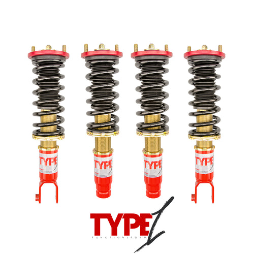 Function & Form Type 1 Coilovers  - Honda Civic Del Sol (1993-1997)