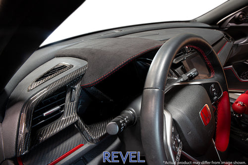 Tanabe / Revel GT Alcantara Center Dash Panel Cover - Honda Civic Type R FK8 (2017+)