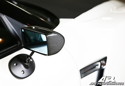 APR Performance Carbon Fiber Formula GT3 Mirrors - Nissan Skyline R35 GT-R (2009+)