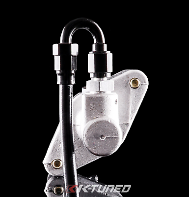 K-Tuned Clutch Master Cylinder Upgrade & Line Kit - Honda Civic Si (2002-2011)