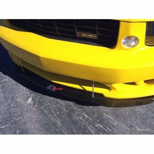 APR Performance Carbon Fiber Front Wind Splitter w/ Rods Mustang Saleen 05-09