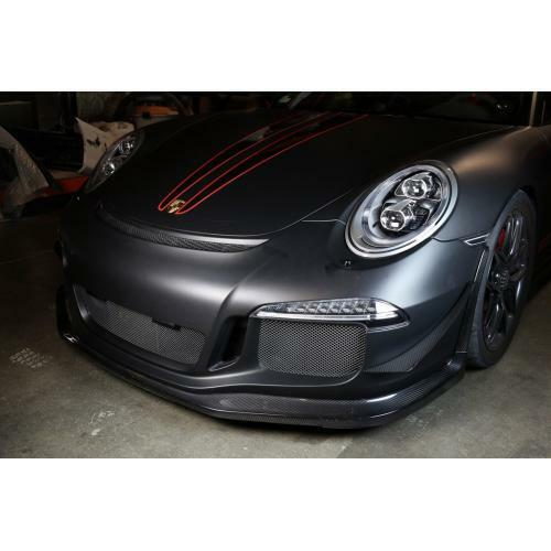 APR Performance Carbon Fiber Front Bumper Canards Porsche 911 991 GT3 14+ New
