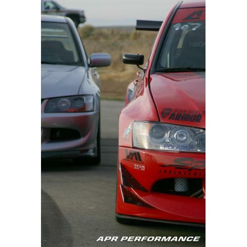 APR Performance Carbon Fiber Formula GT3 Mirrors - Mitsubishi Lancer Evolution EVO 8 / 9 (2003-2009)
