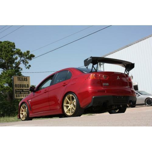 "APR Performance Carbon Fiber GTC-300 67"" Adjustable Wing Mitsubishi Evo X 08+"