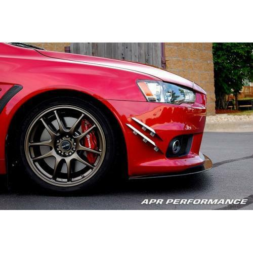 APR Performance Carbon Fiber Front Wind Splitter w/o OE Lip Lancer Evolution X
