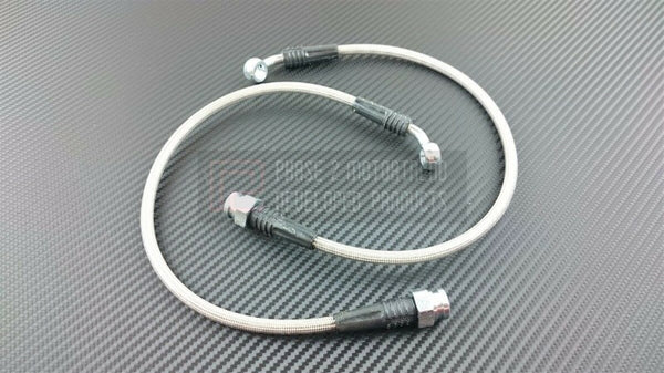 Phase 2 Motortrend (P2M) Stainless Steel Braided Rear Brake Lines - Hyundai Genesis Coupe (2010-2011)