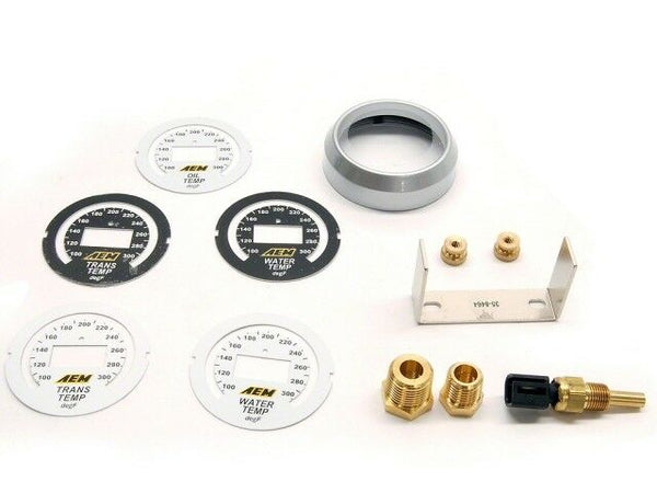 AEM Electronics 52MM Digital Oil / Transmission / Water Temperature Gauge 100~300F