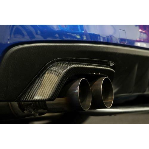 APR Performance Carbon Fiber Exhaust Heat Shields Guards Set - Subaru WRX / STi (2015-2020)