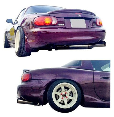 "ISR Performance 2.5"" Stainless Steel Circuit Spec Exhaust System - Mazda Miata NB (1999-2005)"