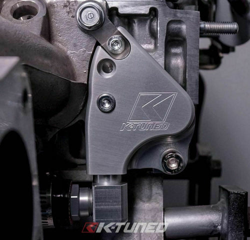 K-Tuned Intake Manifold Adapter Plate K24 Manifolds onto K24 Coolant Adapter