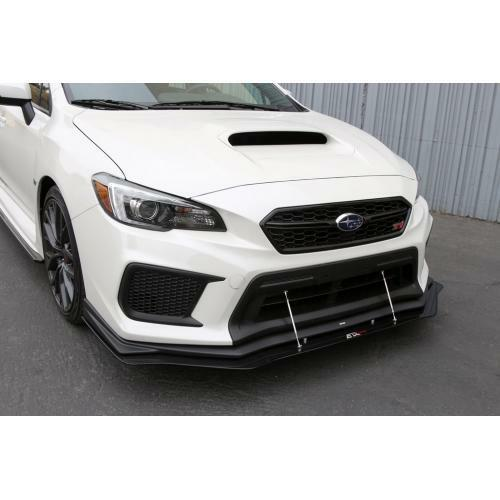 APR Performance Carbon Fiber Wind Splitter & Rods - Subaru WRX & STi w/ OE Lip (2018+)