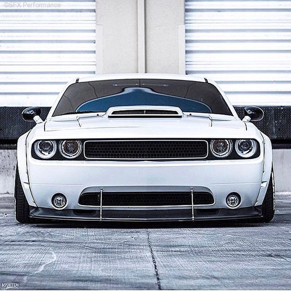 APR Performance Carbon Fiber Front Wind Splitter Dodge Challenger SRT8 08-10 New