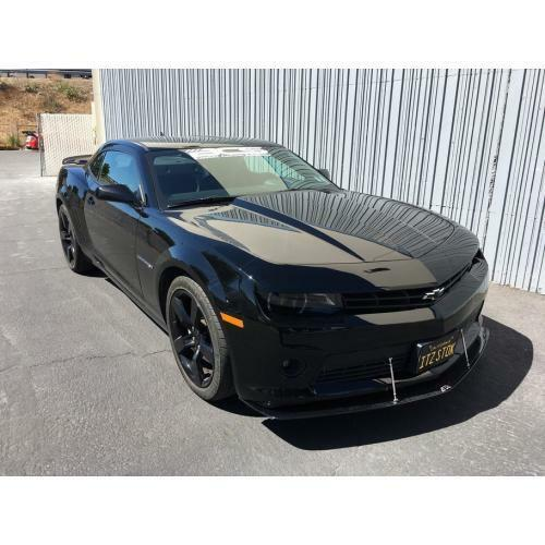 APR Performance Carbon Fiber Front Bumper Wind Splitter - Chevrolet Camaro V6 (2014-2016)