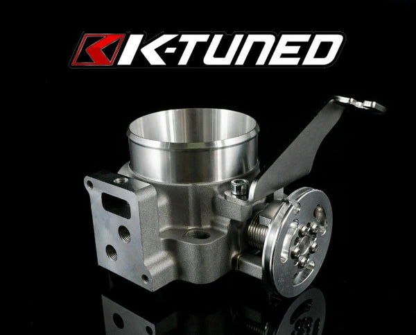 K-Tuned 70mm Cast Throttle Body - Acura / Honda K Series K20 K24 PRB / RBC Dual Port Pattern