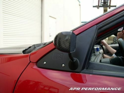APR Performance Carbon Fiber GT3 Side Mirrors - Honda Civic Coupe EK (1996-2000)