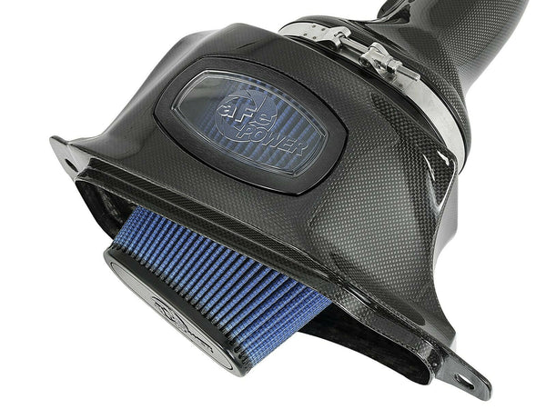 AFE Momentum Carbon Fiber Cold Air Intake CAI Corvette Stingray C7 V8 6.2L 14-19